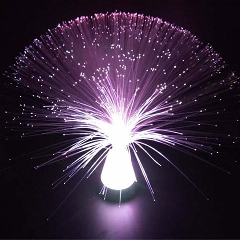 Fiber Optic LED Night Light - Home and Baby Nursery Decor