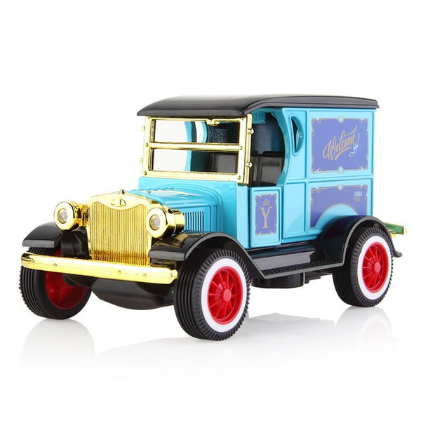 Pull Back Die-cast Model Car With Sounds & Lights