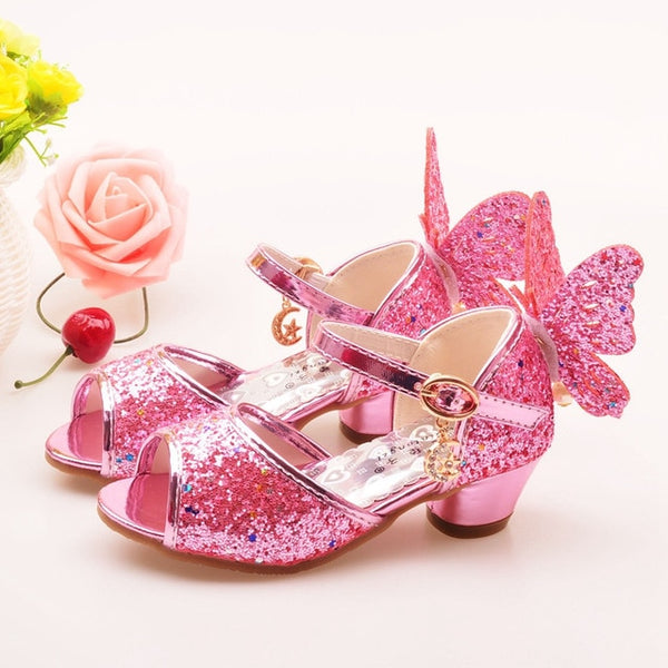 Little Girls' Formal Crystal/Glitter/Rhinestone Shoes