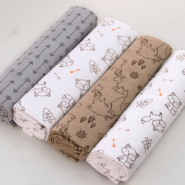 Multipurpose Muslin/Cotton/Bamboo Super Soft baby Blankets