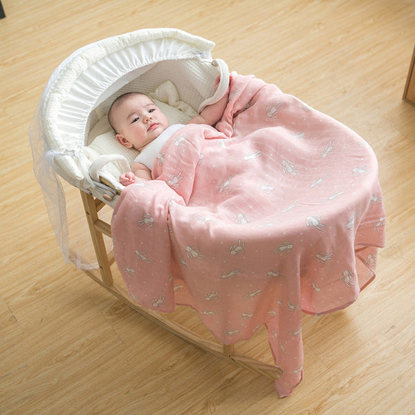 Super Soft Baby Blanket Multipurpose Muslin/Cotton/Bamboo