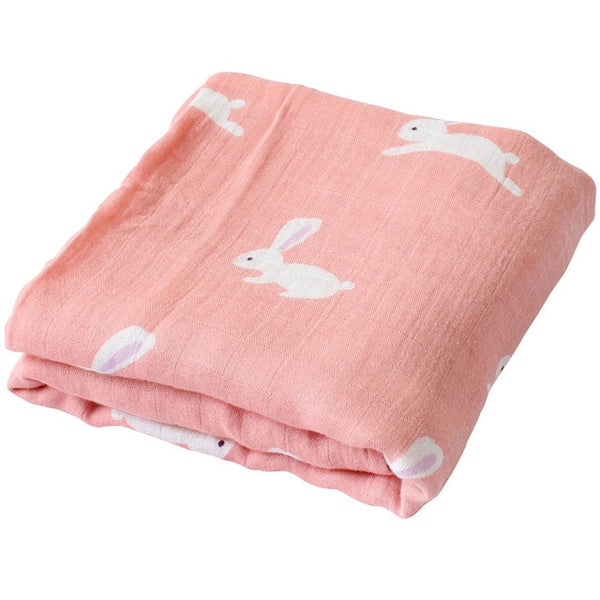 Multipurpose Muslin/Cotton/Bamboo SuperSoft baby Blanket