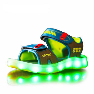 Children's Unisex Colorful LED Light Up Sandals