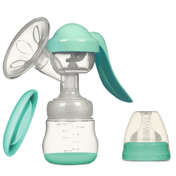 Silicone Electric/USB & Manual Breast Pumps with Bottle - 10 Styles