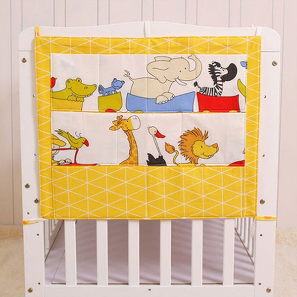 Hanging Crib Organizers with Pockets 24*20 Inch