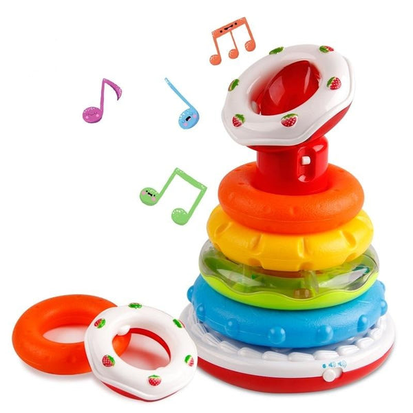 Educational Rainbow Ring With Light & Sound