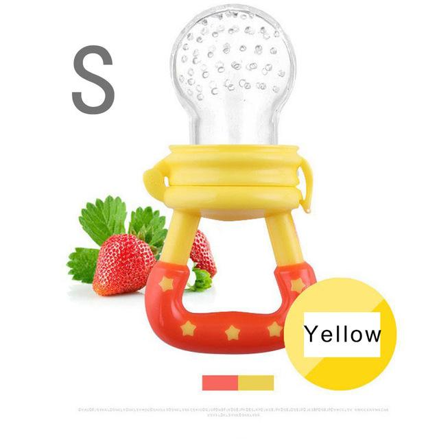 Silicone Baby Fruit Pacifier and Teether