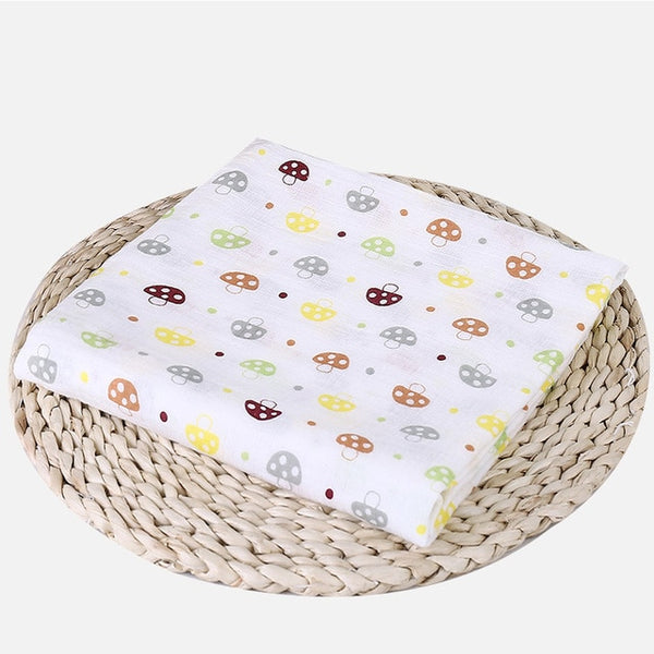 Multipurpose Muslin/Cotton/Bamboo SuperSoft Baby Blankets