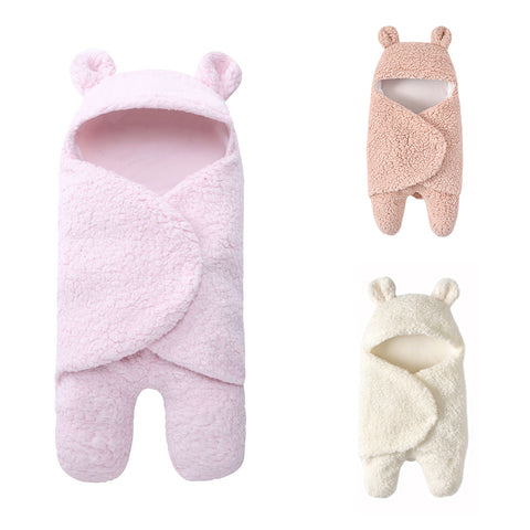 Newborn Soft Fleece Winter Wrap/Blanket