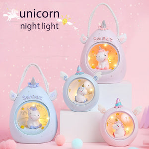 Unicorn LED Nursery Night Light