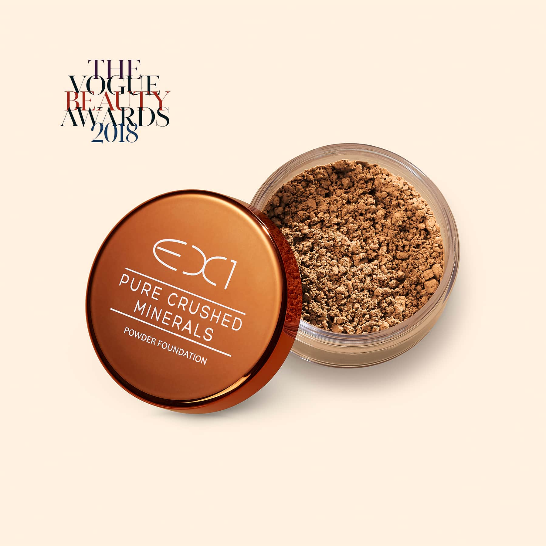 Pure Crushed Mineral Foundation Ex1 Cosmetics