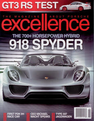 Our PDK Cup Car feat. in Excellence Magazine June 2010