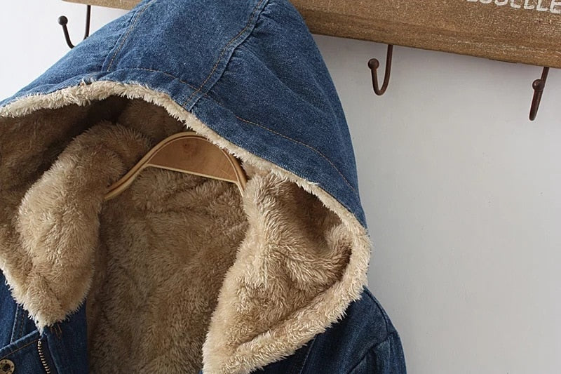 Boho Fleece Winter Hood Jacket