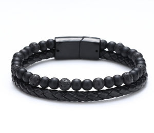 Boho Men Leather Bracelet