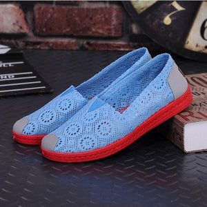 Fisherman Weave Canvas Loafers