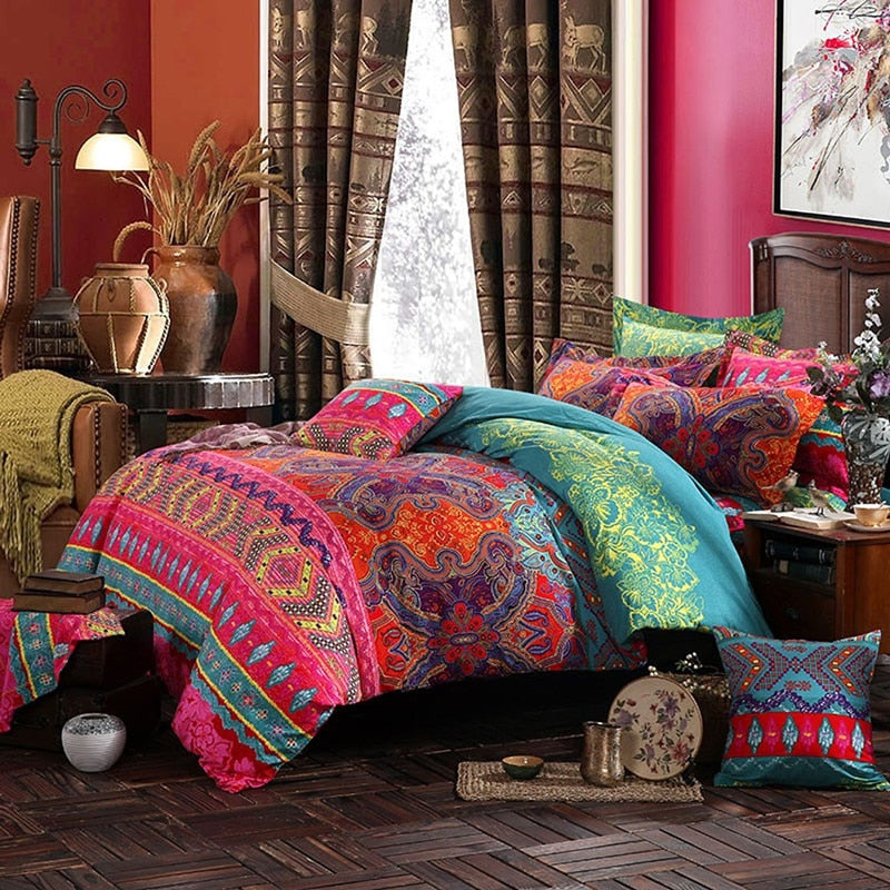 Bohemian Comforter Bedding Sets