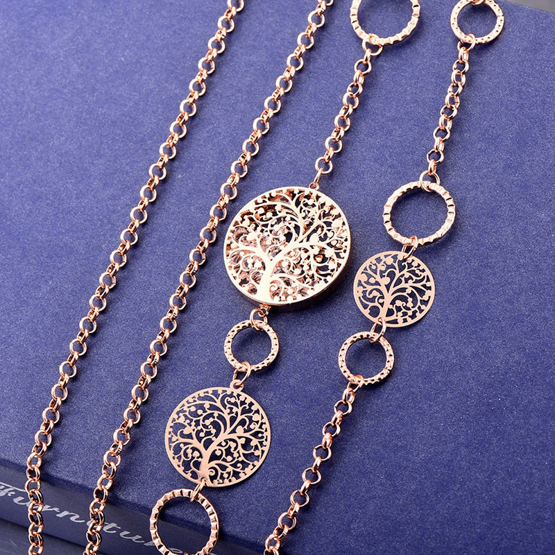 Boho Tree Of Life Necklace