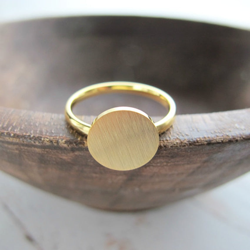 Vintage Full Moon Ring