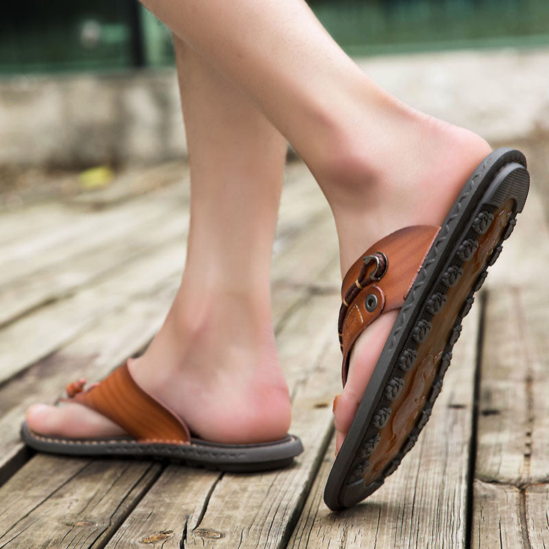 Vintage Boho Romans Leather Sandals
