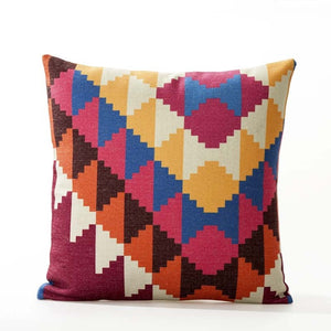 Sofa Cushion Cover Linen/Cotton Bohemian