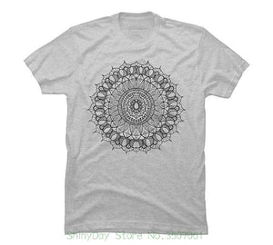 Mandala Hand-drawn Graphic Men's T-Shirt