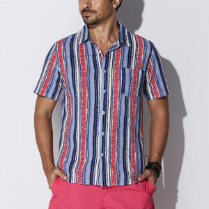Boho Men's Short Sleeve Shirt