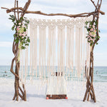 Handmade Woven Wall Tapestry Boho Wedding Backdrop