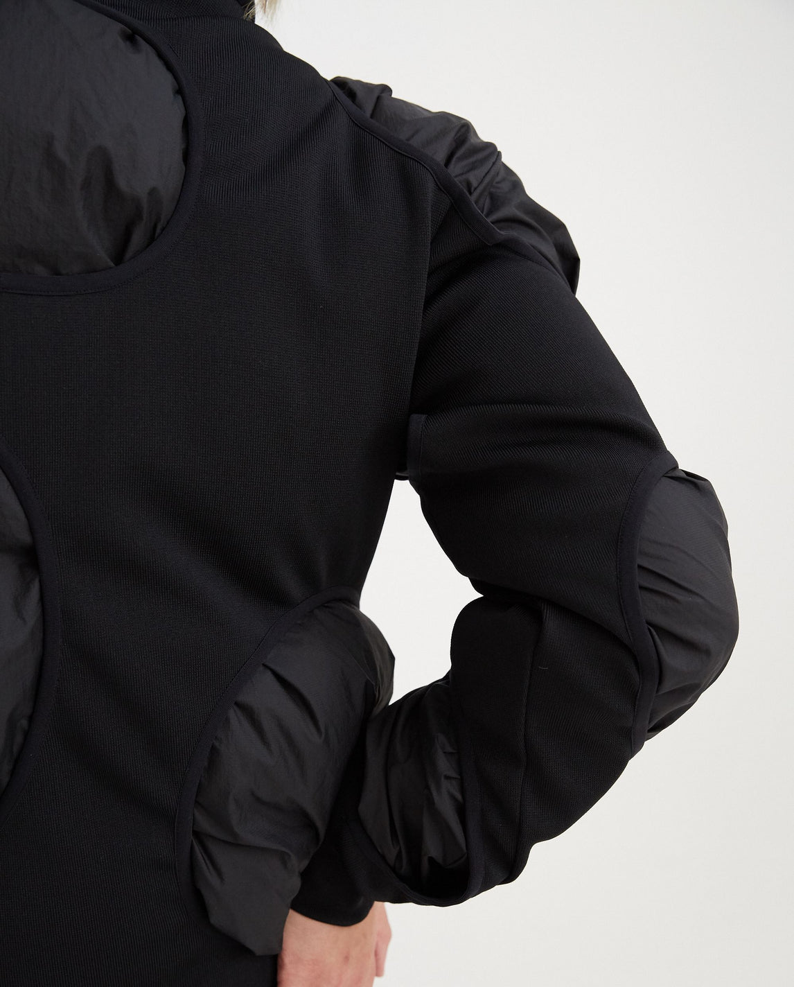 3.1 Down Left Jacket - Black MENS POST ARCHIVE FACTION