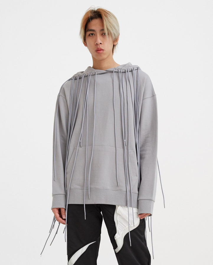 3.1 Hoodie Left - Grey MENS POST ARCHIVE FACTION (PAF)