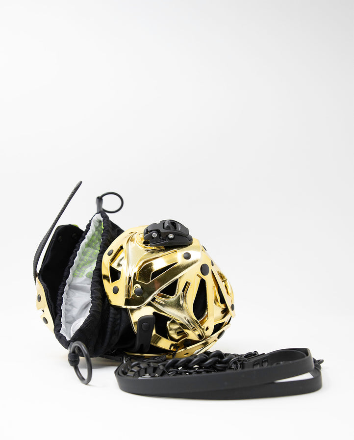 Object I36 Small Ball Bag - Gold