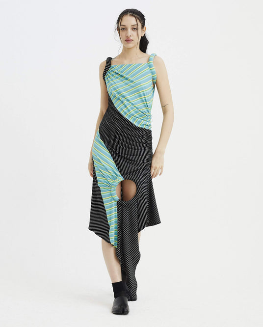 Andromeda Draped Dress - Multi WOMENS KIKO KOSTADINOV