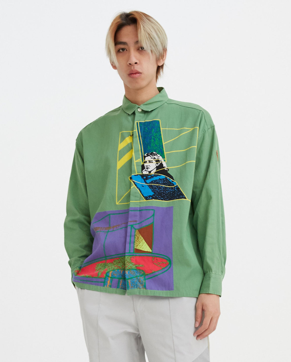 Authenticity Big Shirt - Green UNISEX CAV EMPT