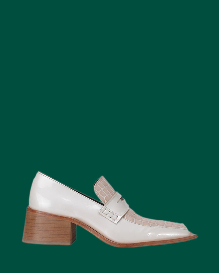 Bagleys - White UNISEX MARTINE ROSE FOOTWEAR