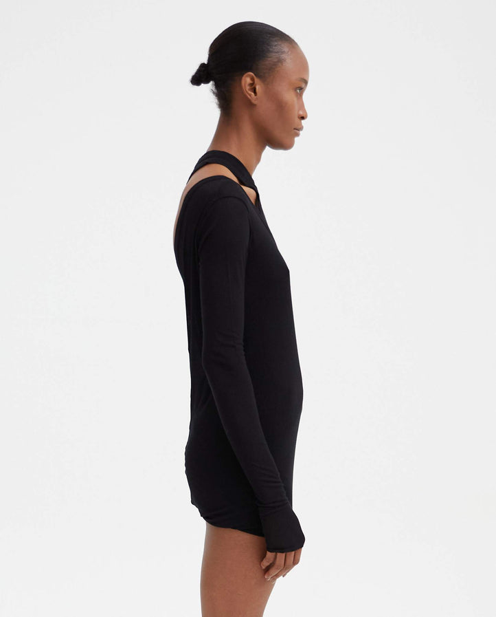 Banana Ziggy T-Shirt - Black WOMENS RICK OWENS