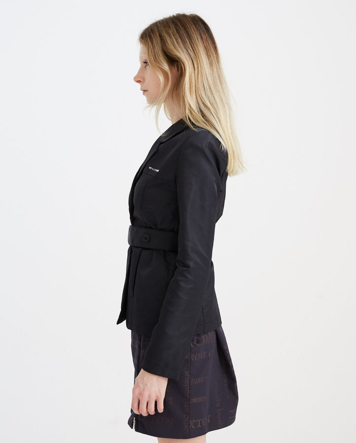 Blazer with Waist Belt - Black WOMENS 1017 ALYX 9SM