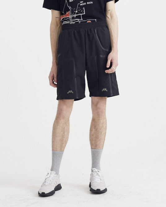 Bracket Taped Track Shorts - Black MENS A-COLD-WALL*