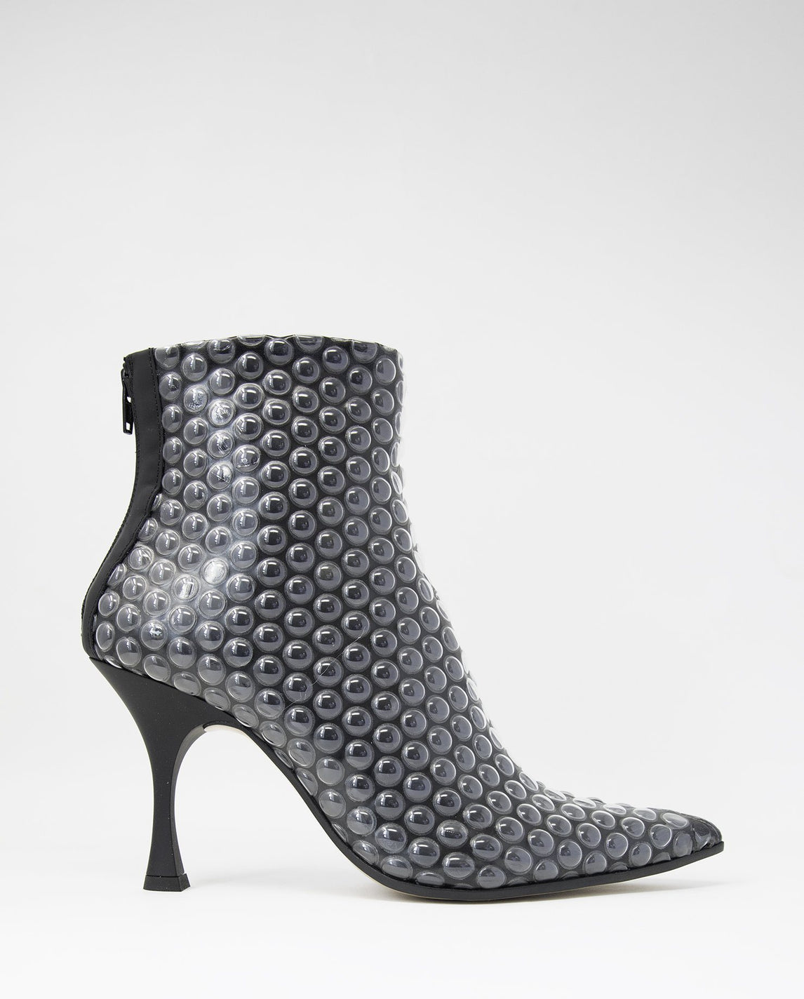 Bubble Wrap Ankle Boot - Black WOMENS MM6 MAISON MARGIELA
