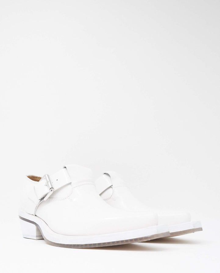 Buckle Shoe - White UNISEX ION