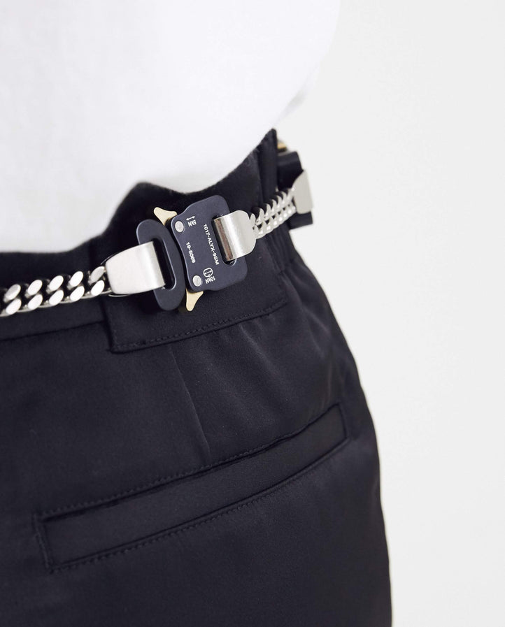 Buckles 4 Ever Belt - Black and Silver UNISEX 1017 ALYX 9SM