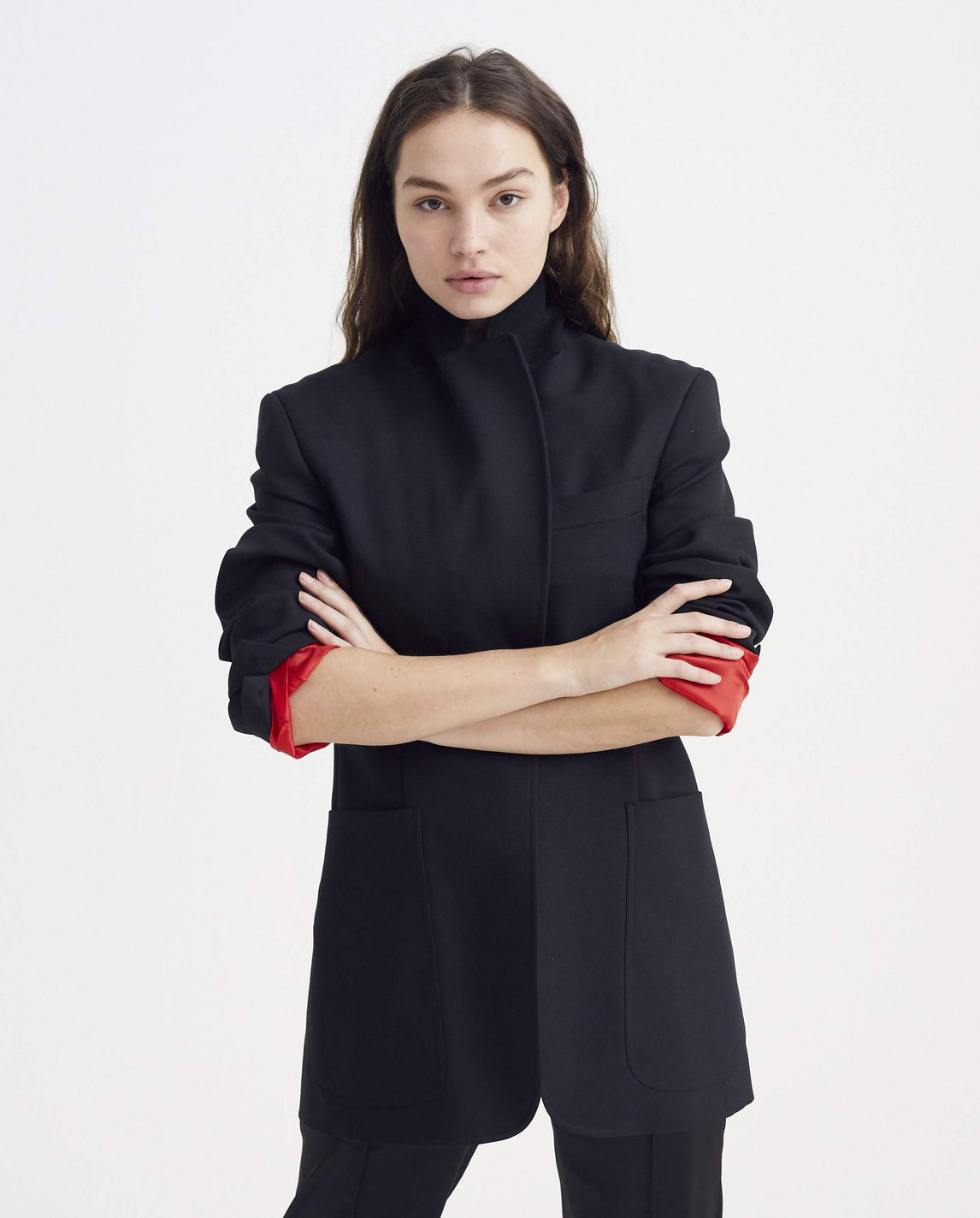 Buro Jacket - Black WOMENS SAMUEL GUI YANG