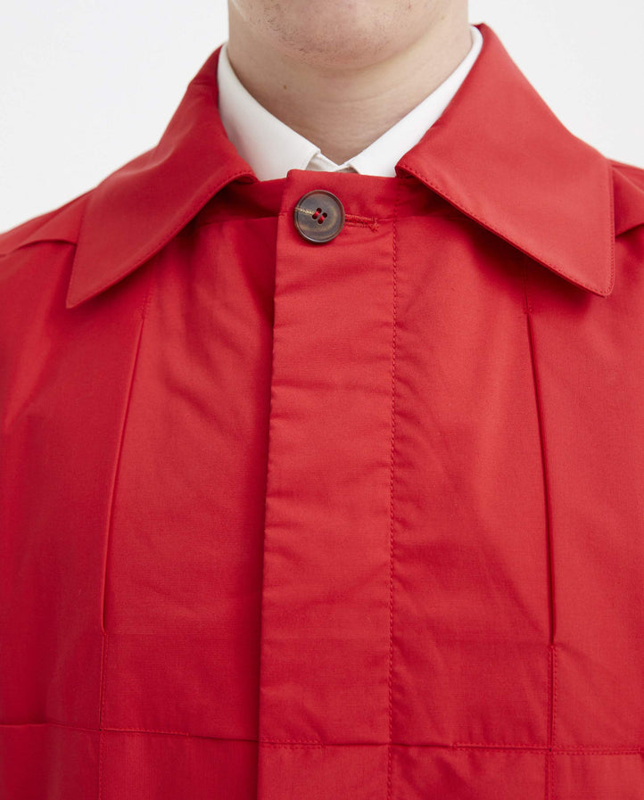 Button-Up Mac - Red MENS CORNERSTONE