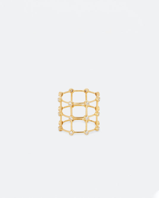 Cage Ring - Gold WOMENS PATCHARAVIPA