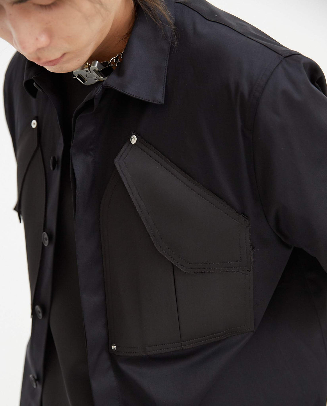 Cargo Shirt - Black MENS 1017 ALYX 9SM