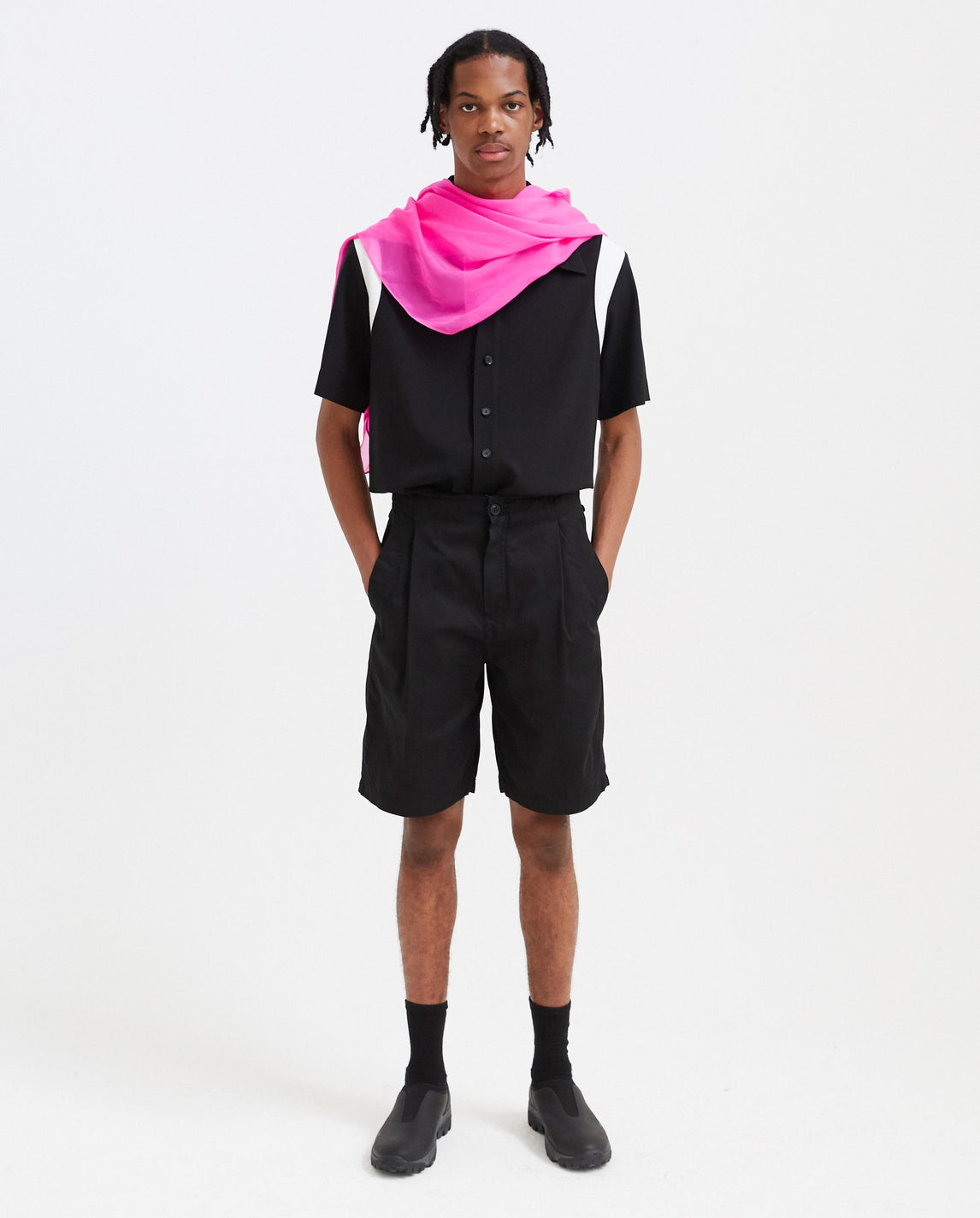 Casual Chino Shorts - Black MENS CAV EMPT