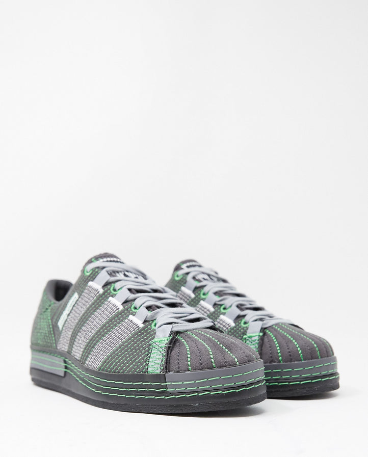 CG Superstar - Utility Black / Core Black / Green UNISEX ADIDAS BY CRAIG GREEN