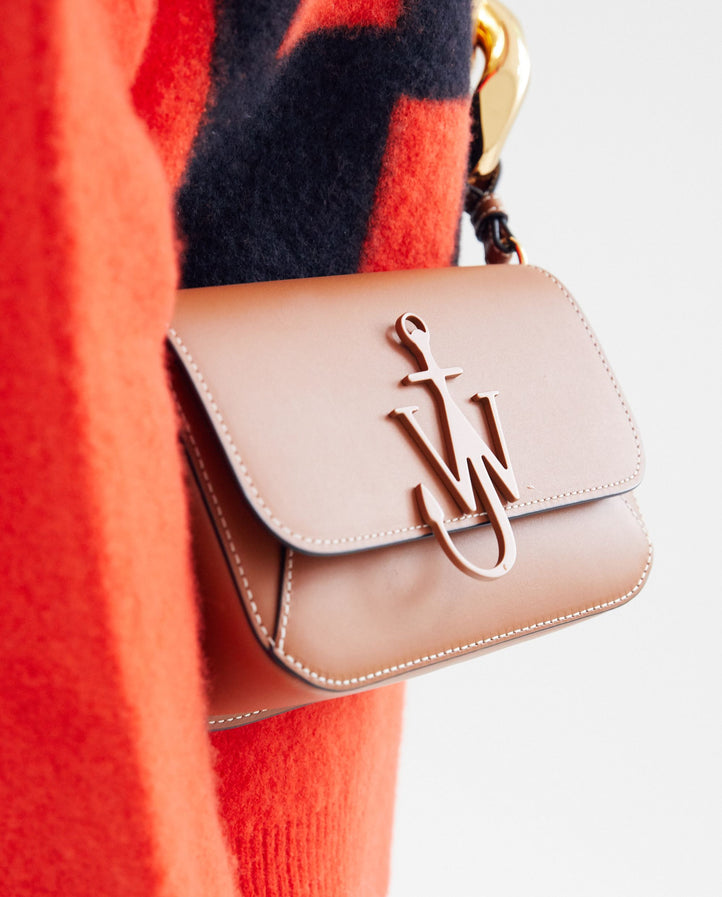 Chain Midi Anchor Bag - Pecan UNISEX JW ANDERSON