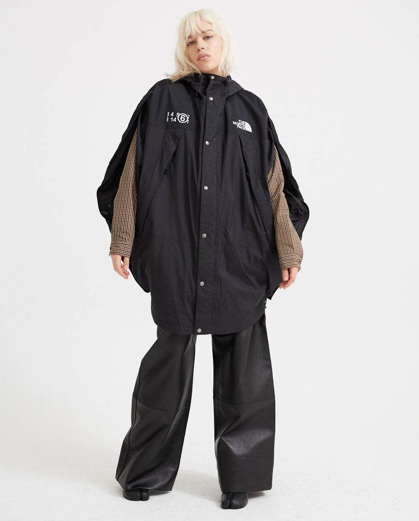 Circle Parka - Black WOMENS MM6 MAISON MARGIELA