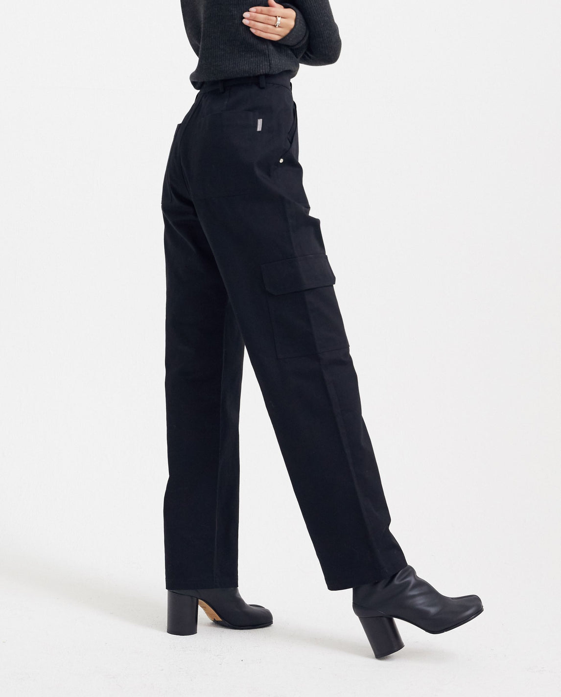 Clip-on Bag Pants - Black UNISEX PRIVATE POLICY