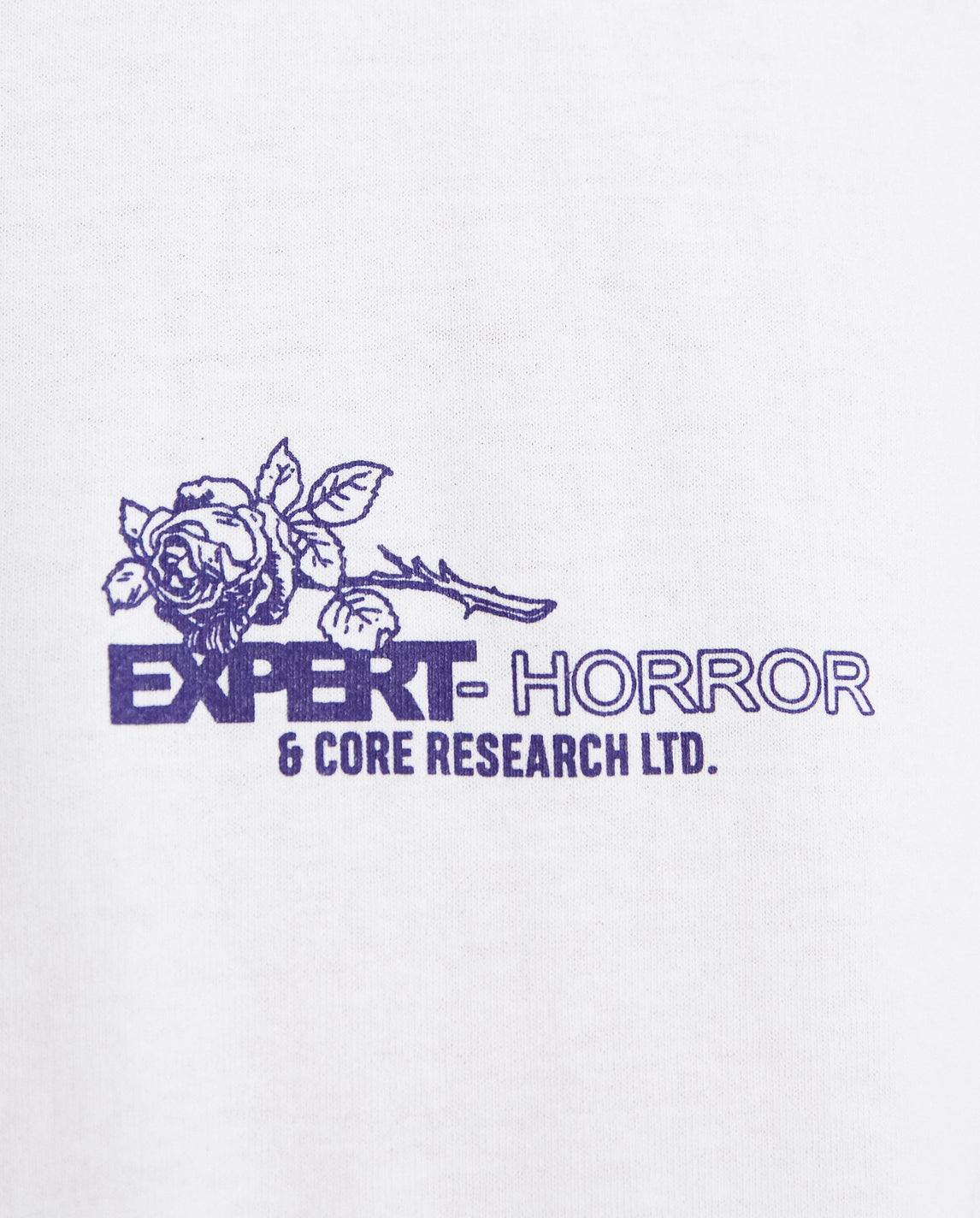 Core Racer 2021 T-Shirt - White UNISEX EXPERT HORROR