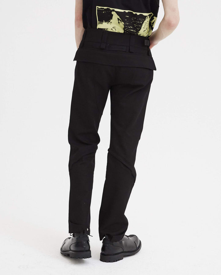 Crescent Zip Pant - Black MENS 1017 ALYX 9SM